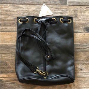 Liz Claiborne Black Backpack Purse